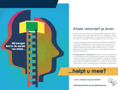 Afasie advertentie