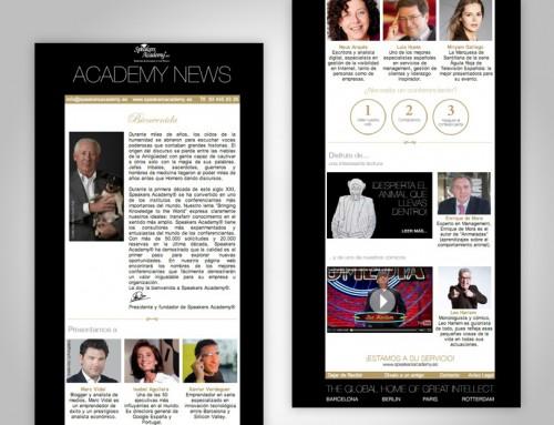 Speakers Academy nieuwsbrief